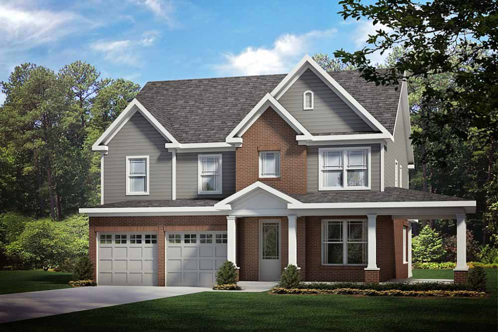 Newport custom home plan