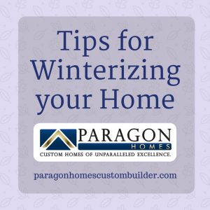 Home Winterizing Tips