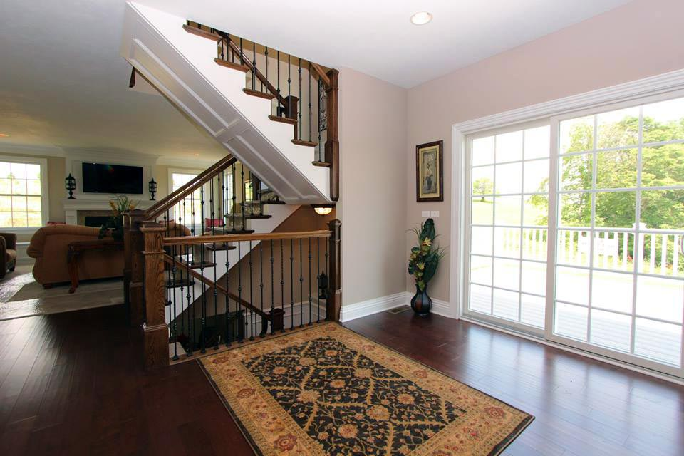 Paragon-Robinson-Township-Custom-Homes-Stairs-Windows-3