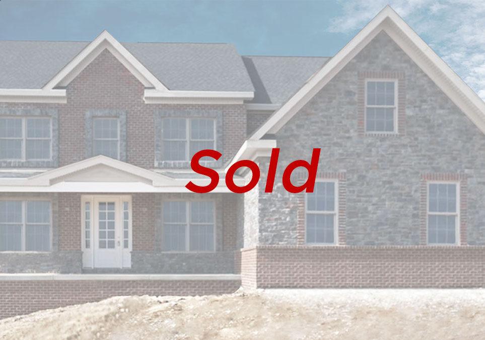Paragon Homes Deerfield Ridge Drive - SOLD