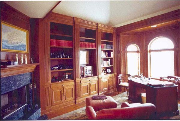 custom homes studies and dens gallery