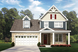 Custom Builder Home Plan