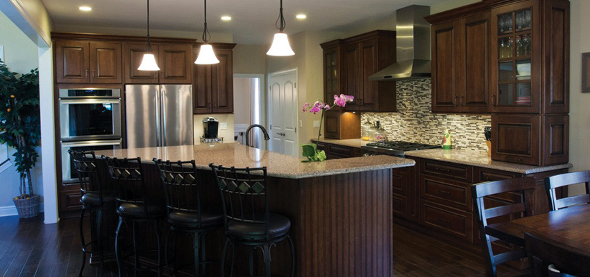 Deerfield Ridge Custom homes kitchen