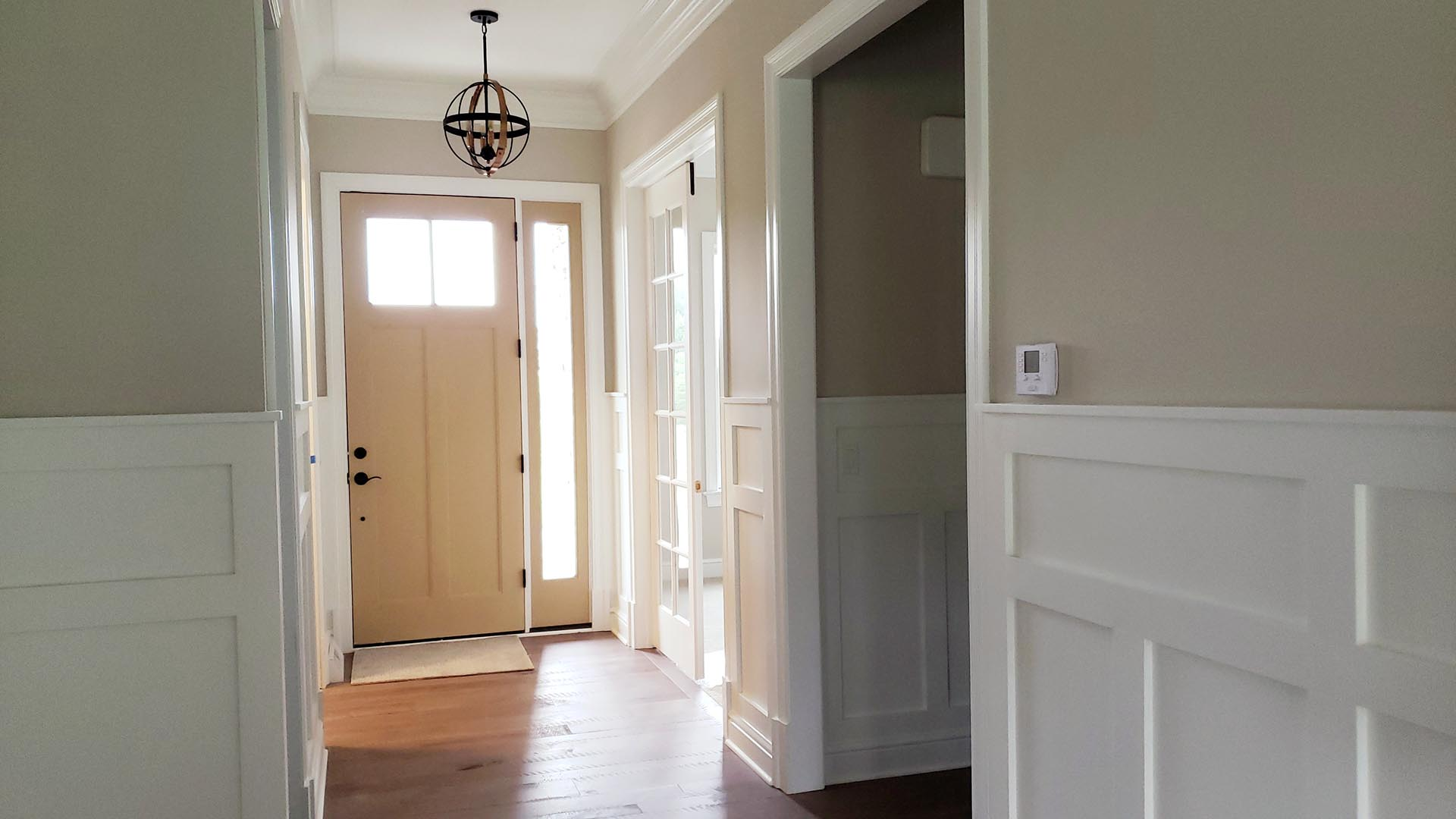 entryway - Parkside Meadows model