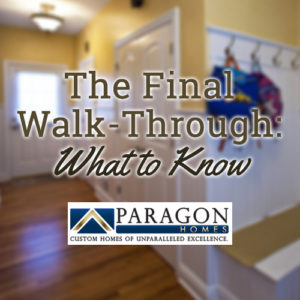 home buyer tips- the final walk-through