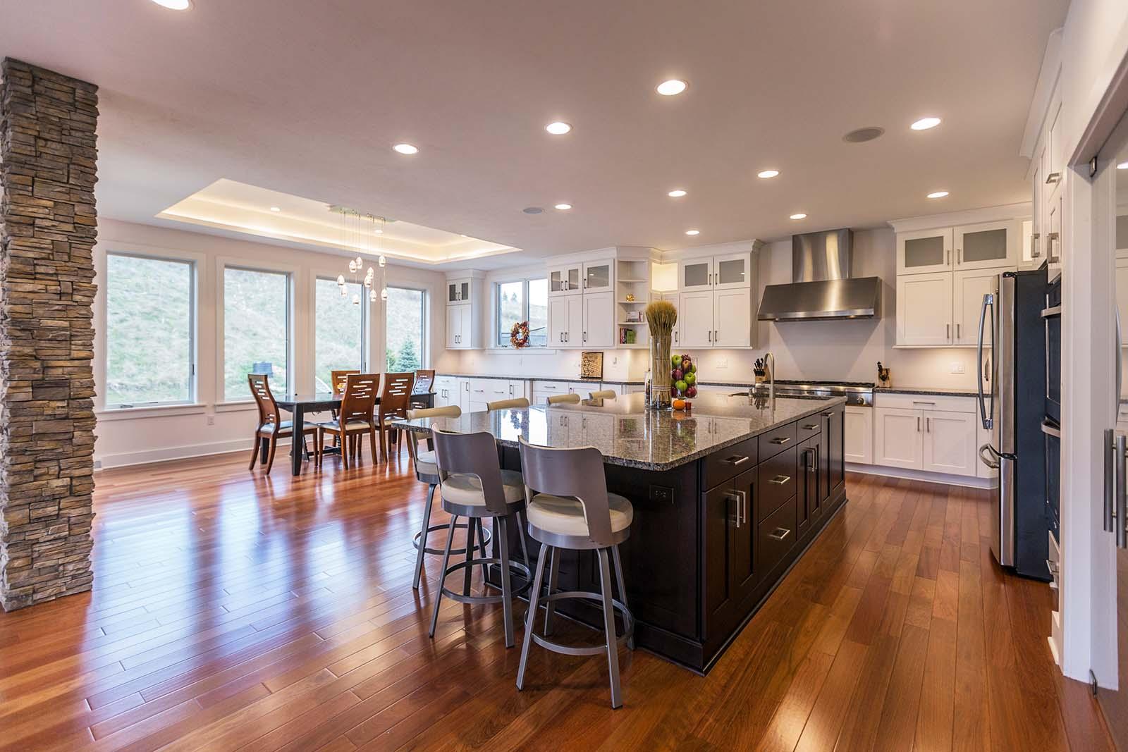 kitchen in dfr custom homes community