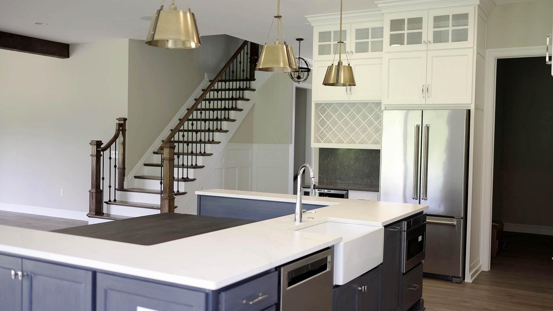 kitchen view 2- Parkside Meadows model