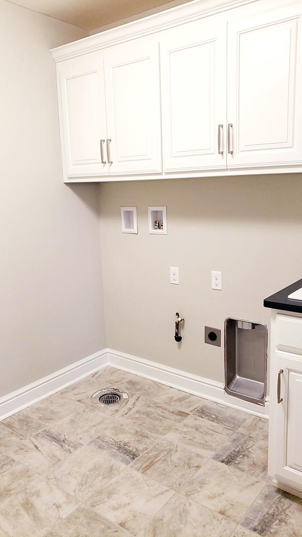 laundry room-2 - Parkside Meadows model