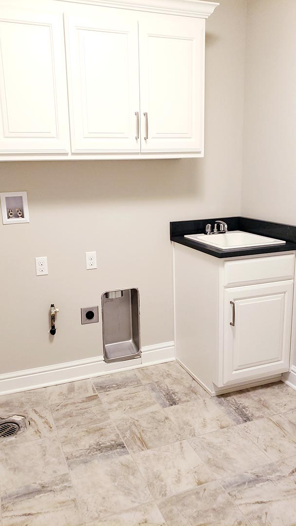 laundry room - Parkside Meadows model